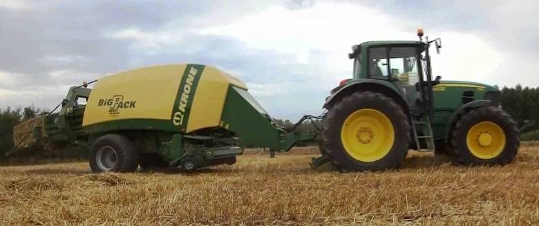 Resized JD Tractor & Krone Baler 2 - Cropped